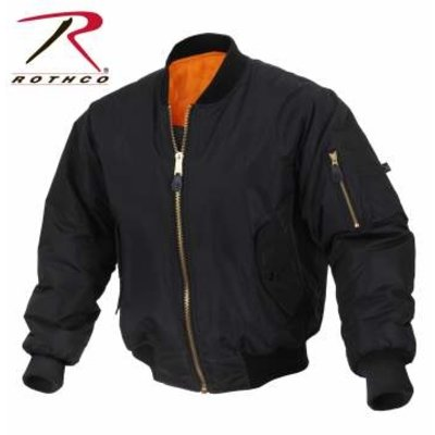 Rothco Rothco Soft Shell Enhanced MA-1 Jacket (Black)