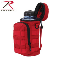 Rothco Rothco MOLLE Water Bottle Pouch - Red (2678)