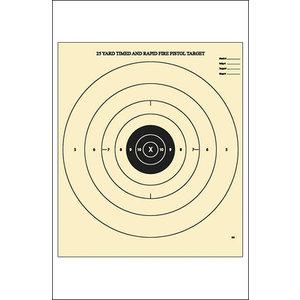 Law Enforcement Targets B-8 25 Yard Timed & Rapid Fire Target (B-8)