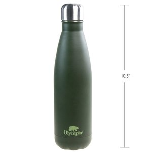 Olympia Olympia OD Water Bottle (500ml) Stainless Steel (31481WTB)