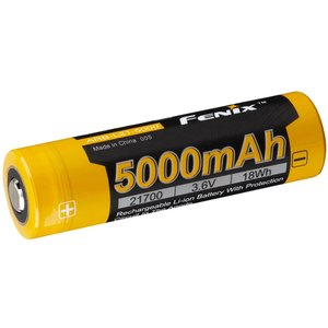 Fenix Fenix Rechargeable 21700 Li-Ion Battery - 5000mAh (#ARB-L21-5000)