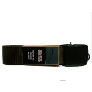 "Mil-Spex Mil-Spex Web Belt - Black 48"" (Black Plastic Buckle) (#3187)"