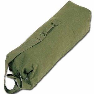 "World Famous World Famous GI Style Duffle Bag (188-OD) 24"" x 40"""