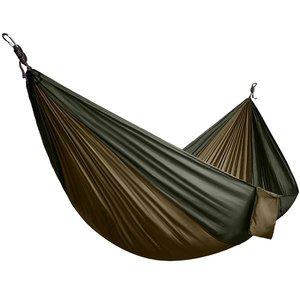 North 49 North 49 JUMBO Parachute Hammock (400 Pound MAX) Khaki/Green (#6142)