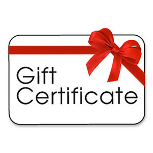 Poco Military $25 Gift Certificate