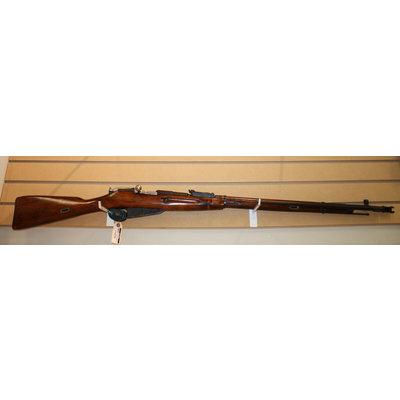 Consignment Mosin Nagant 1929 Hex Rec 7.62x54R w/ Bayonet & Ammo Pouch