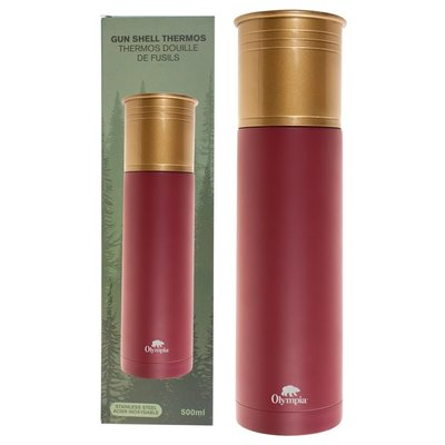 Olympia Olympia Shotgun Shell Thermos (Red) 500ml