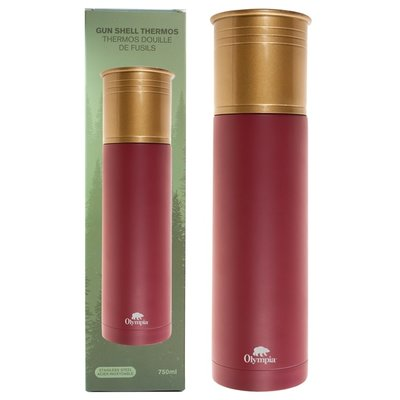 Olympia Olympia Shotgun Shell Thermos (RED) 750ml