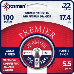 Crosman Crosman Premier .22 Cal Gold Tip (#GTP22) 100ct.