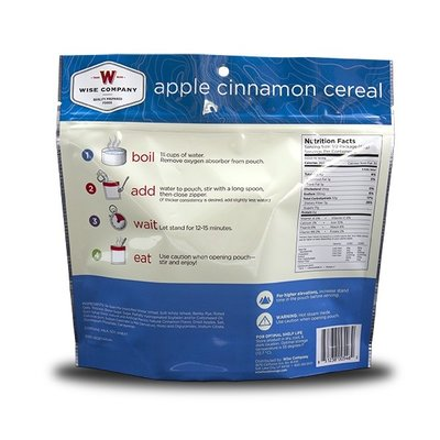 Wise Wise Outdoor Meal- Apple Cinnamon Cereal (133g)