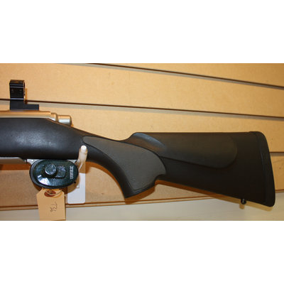 Consignment Remington Model 700 375 H&H Stainless w/ Muzzle Break and Ammo