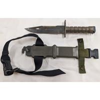 US Military Surplus M-9 Bayonet with Sheath - Lan-Cay