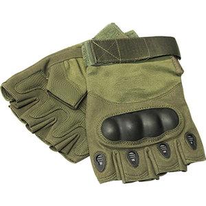 Mil-Spex Mil-Spex Fingerless Assault Gloves (Olive Drab)