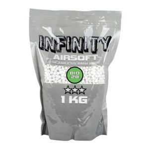 Valken Valken Infinity 0.28 Gram Biodegradable Airsoft BBs - 1 Kilo Bag