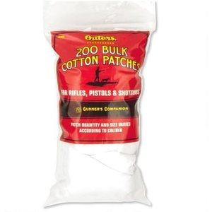 Outer's 200 Bulk Cotton Cleaning Patches (Cut to Size) #42380