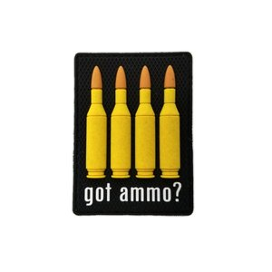 Tactical Innovations Got Ammo 223 CAL Patch (PVC)