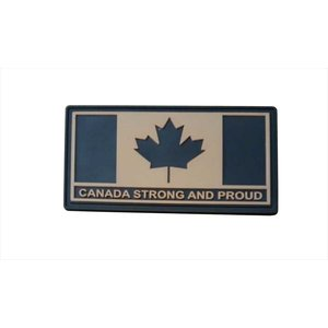 Tactical Innovations Canada Strong & Proud (PVC) Black & Tan