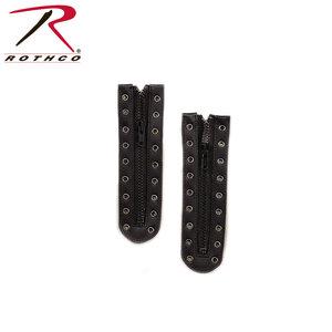 Rothco Rothco Black Zipper Boot Laces (#6195)