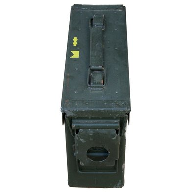 US Military 30 CAL Used Ammo Can (Metal)