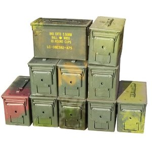 US Military Surplus US Surplus .50 CAL Ammo Can (Used)