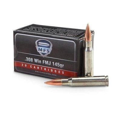 MFS .308 WIN (145 Grain FMJ) 20 Rounds