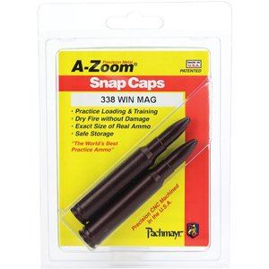 Pachmayr A-Zoom 338 WIN MAG Snap Caps (#12230)