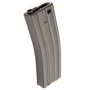 G&G Airsoft G&G GREY M4 GR16 Hi-Cap Airsoft Magazine (450 Rounds)