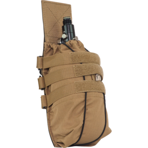 Valken Valken Tank Pouch - TAN (Paintball Air MOLLE)
