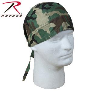 Rothco Rothco Headwrap Woodland (5130)