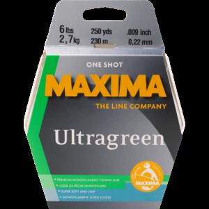 Maxima Maxima Ultragreen Line (25 LBS) 110 Yards / 100 M (MMG25)