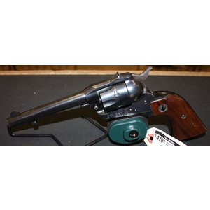Consignment Ruger .22 Single Six Revolver (w/ Leather Holster)