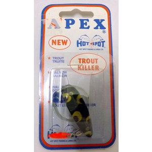 Apex Apex Trout Killer Spinner (Frog 1.5) A2311T