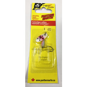 Panther Martin Panther Martin Spinner (Rainbow Trout / Pink White Black)) 1/8oz (SH 4PM RBT)