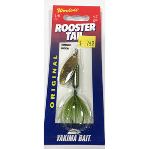 Yakima Yakima Rooster Tail Spinner (1/6oz Frog)