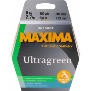 Maxima Maxima Ultragreen Line (8 LBS) 220 Yards / 200 M (MOG 8)
