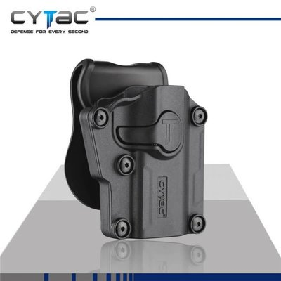 Cytac Cytac Adjustabe MEGA-FIT MOLLE Holster (CY-UHFSBR) 60+ Pistols