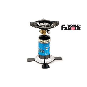 World Famous World Famous Single Burner BOTTLE STAND Propane Stove (2810)