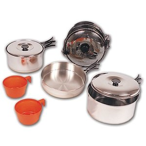 North 49 North 49 2 Person Stainless Steel Cook Set (732)