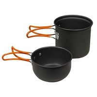 North 49 North 49 Dual Pot Backpackers COOK SET (733)