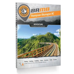 Backroad Maps Backroads MAP Book (Thompson Okanagan BC) 5th Ed.