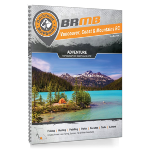 Backroad Maps Backroads MAP Book (Vancouver Coast & Mountains BC) 5th Ed.