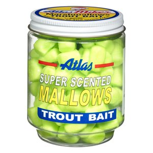 Atlas-Mike's Atlas-Mike's MARSHMALLOWS Trout Bait (Chartruese) #5010