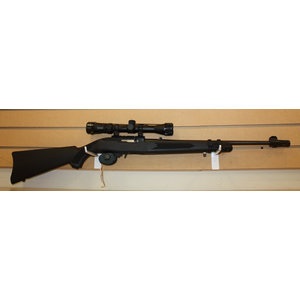 Consignment Ruger 10/22 with Lasermax Stock and Scope