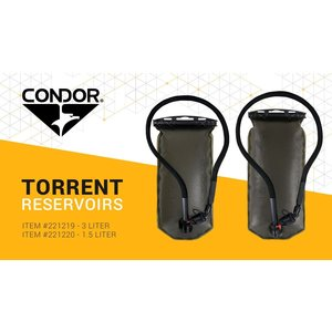Condor Outdoor Condor 2.5L Torrent Reservoir Hydration Bladder