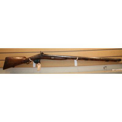 Consignment Side By Side Damascus Shotgun (WAL HANGER, Non-Firing)