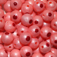 Trout Beads Blood Dot Eggs (10 Pack / 10mm) Salmon
