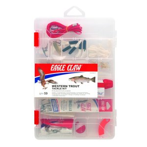 Eagle Claw Eagle Claw Trout Kit 59pc (tk-wtrout1)