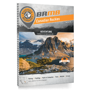 Backroad Maps Backroads MAP Book (Canadian Rockies)