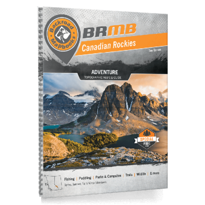 Backroad Maps Backroads MAP Book (Canadian Rockies)