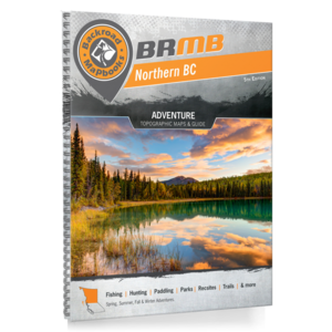 Backroad Maps Backroads MAP Book (Northern BC)